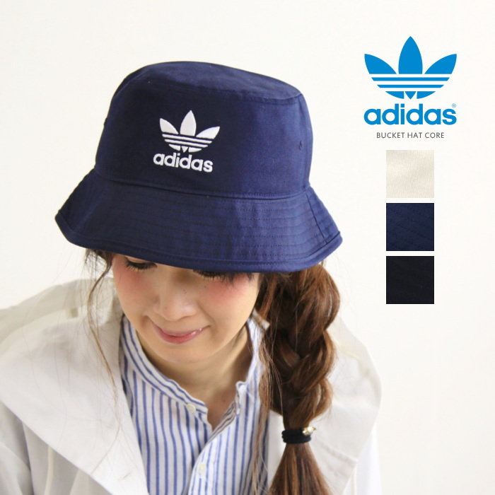 adidas bucket hat [bhh18] adidas originals (adidas originals) bucket hat core originals  embroidered bucket hat HAMNSTT